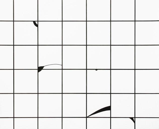 Composition01, 종이에 잉크, 49,8x61cm, 2014