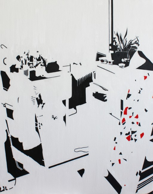 STUDIO15_C3, 캔버스에 유채, 92x73cm, 2011