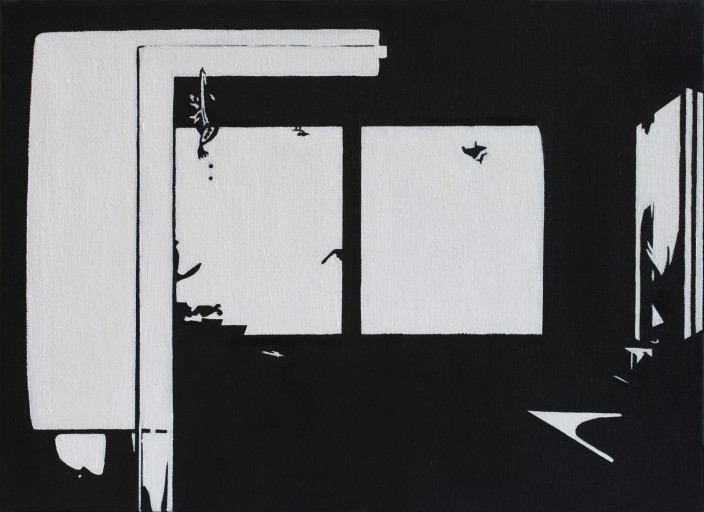 STUDIO15_C4, 캔버스에 유채, 24x33cm, 2011