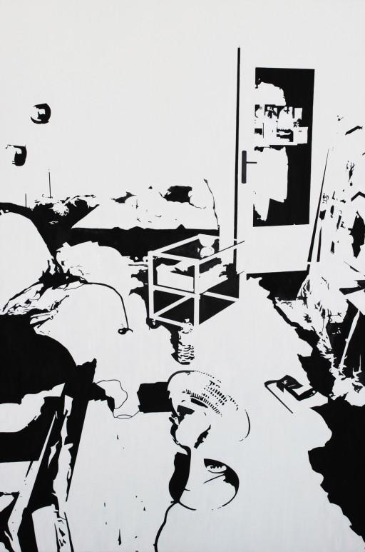 STUDIO15_S1, 캔버스에 유채, 146x97, 2012