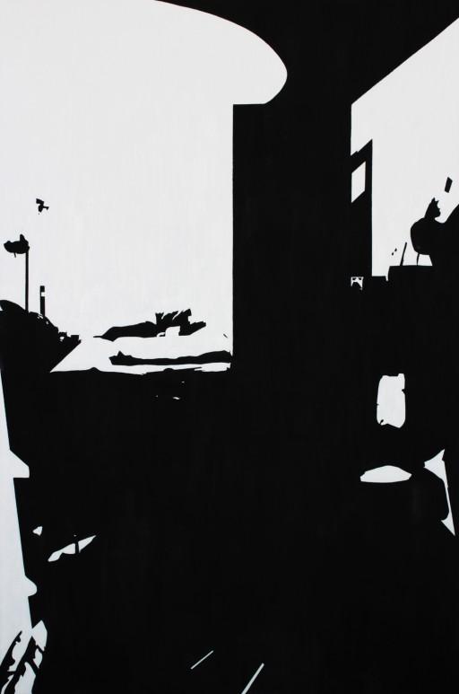 STUDIO15_S2, 캔버스에 유채, 146x97cm, 2012