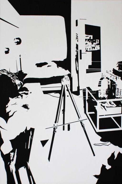STUDIO15_S3, 캔버스에 유채, 146x97cm, 2013