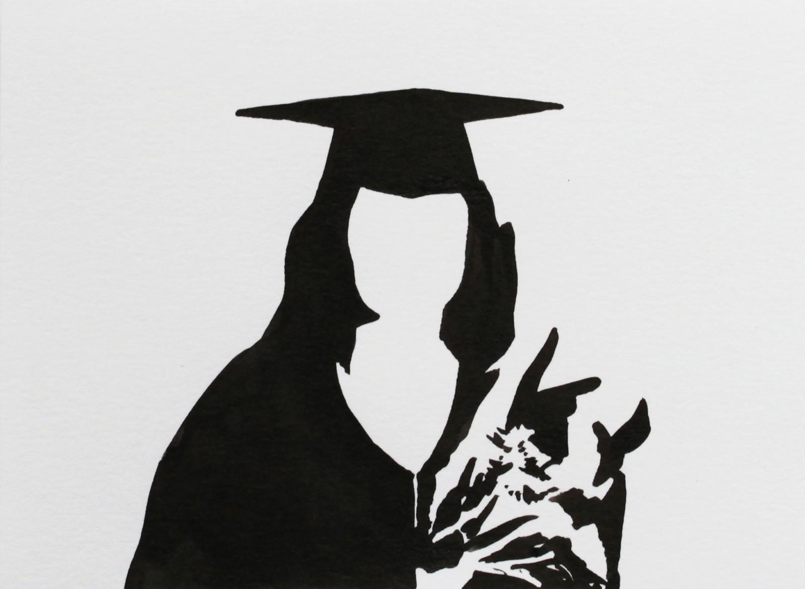 Fragments noirs, 종이에 잉크, 10x13,5cm, 2014, dessin